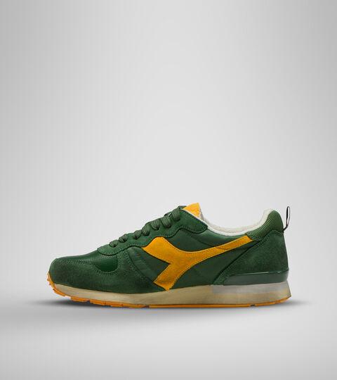 Footwear Sportswear UNISEX CAMARO ICONA VERDE FOGLIAME/GIALLO CITRUS Diadora