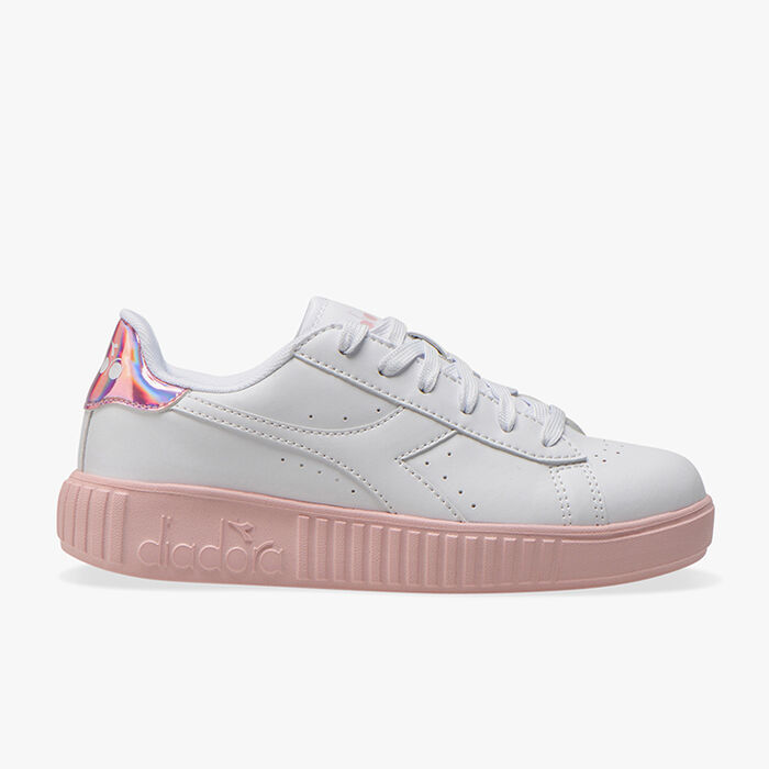 GAME STEP GS, WHITE/PINK PEACHSKIN, large