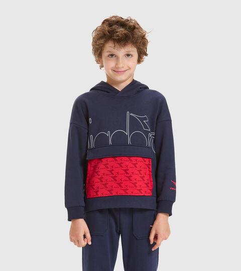 Hooded sweatshirt - Kids JB.HOODIE HOOPLA CLASSIC NAVY - Diadora