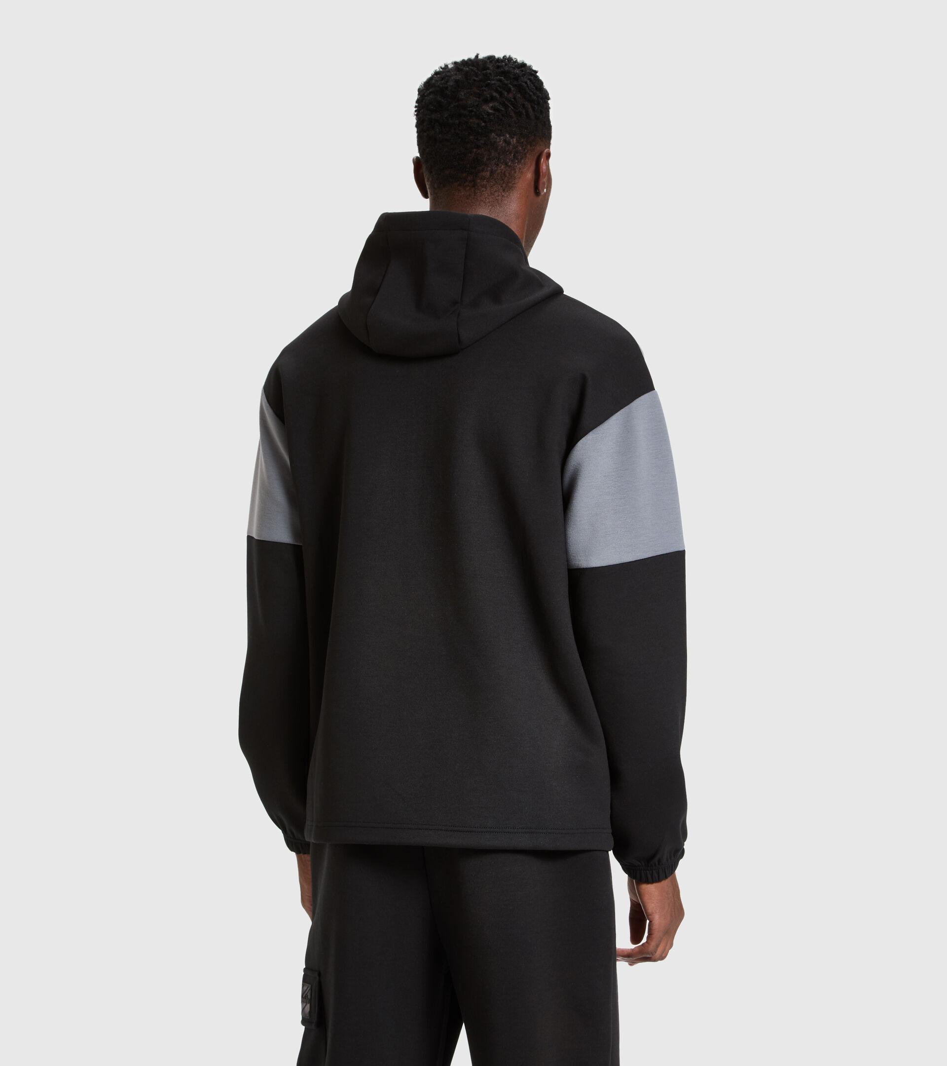 Hooded sweatshirt - Men HOODIE URBANITY BLACK - Diadora