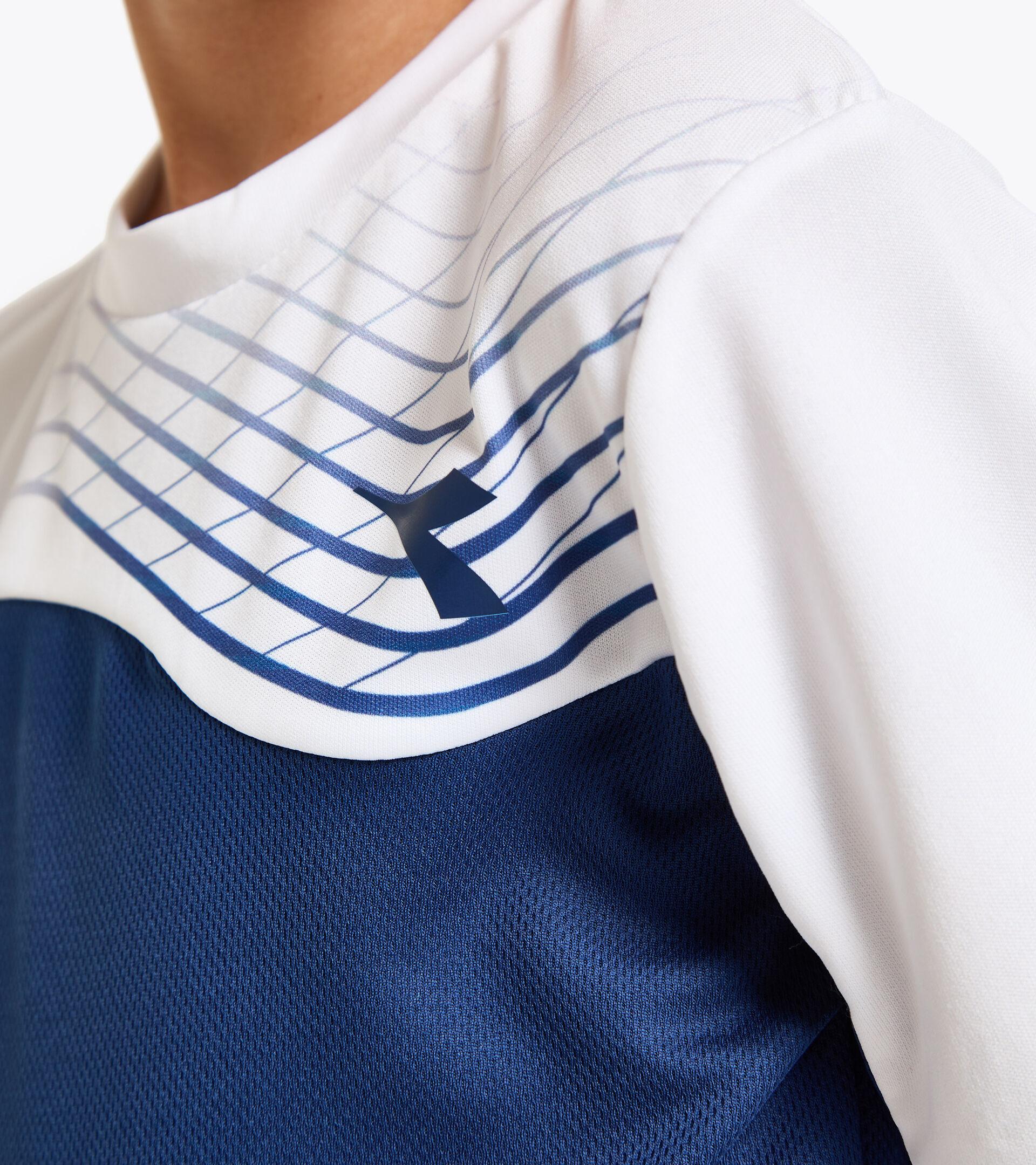 Apparel Sport BAMBINO J. T-SHIRT COURT SALTIRE NAVY Diadora