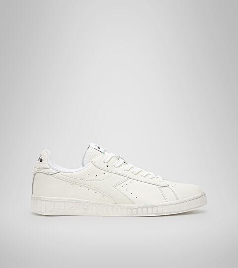 Footwear Sportswear UNISEX GAME L LOW WAXED WHITE/WHITE/WHITE Diadora