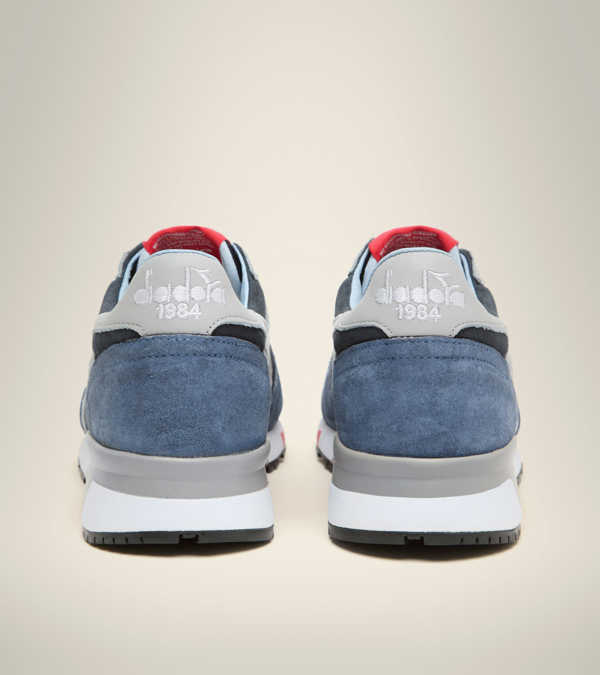 Footwear Heritage UOMO TRIDENT 90 SUEDE SW BLUE DENIM Diadora