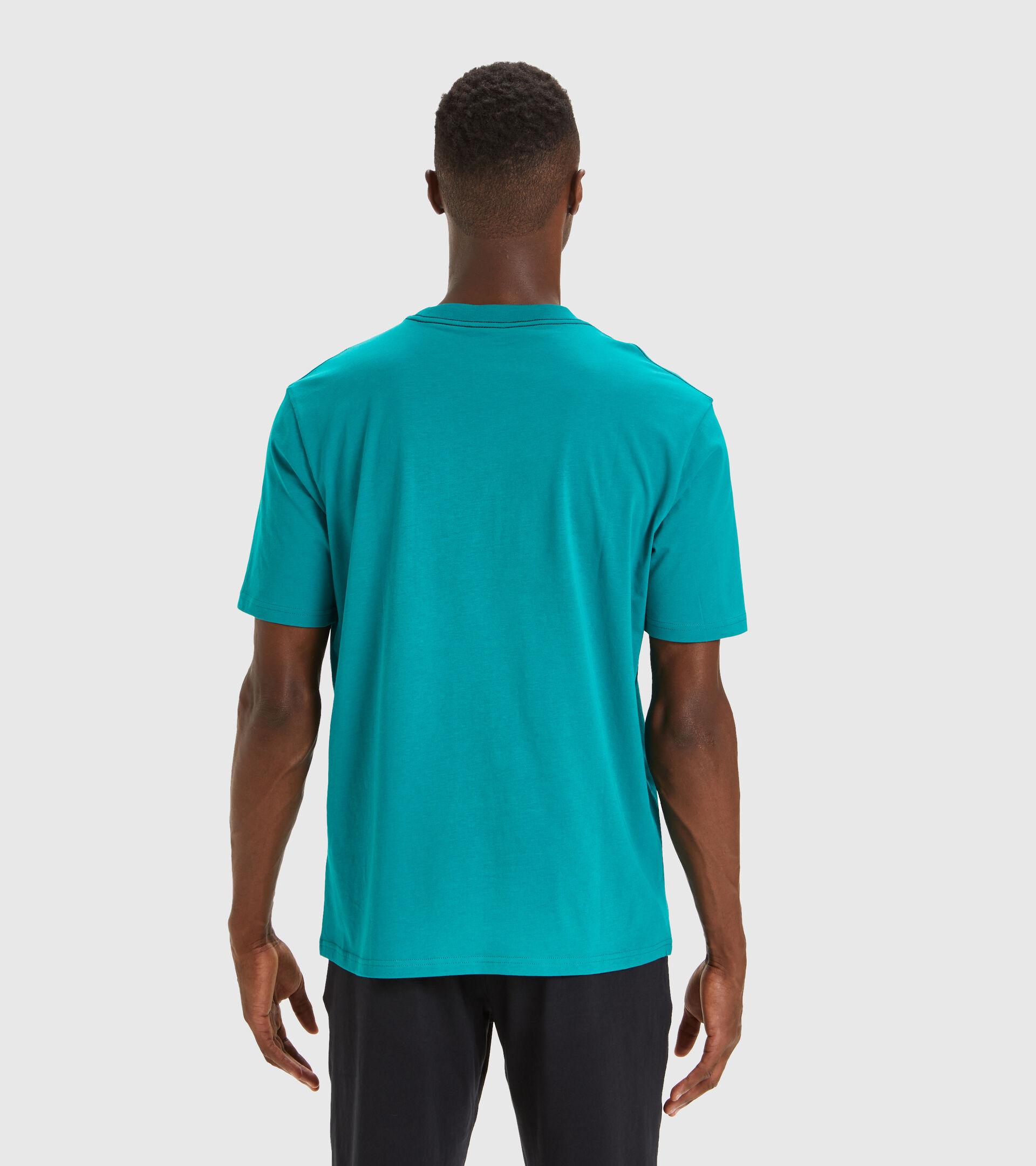 T-Shirt - Herren T-SHIRT SS SHIELD KADMIUM GRUEN - Diadora