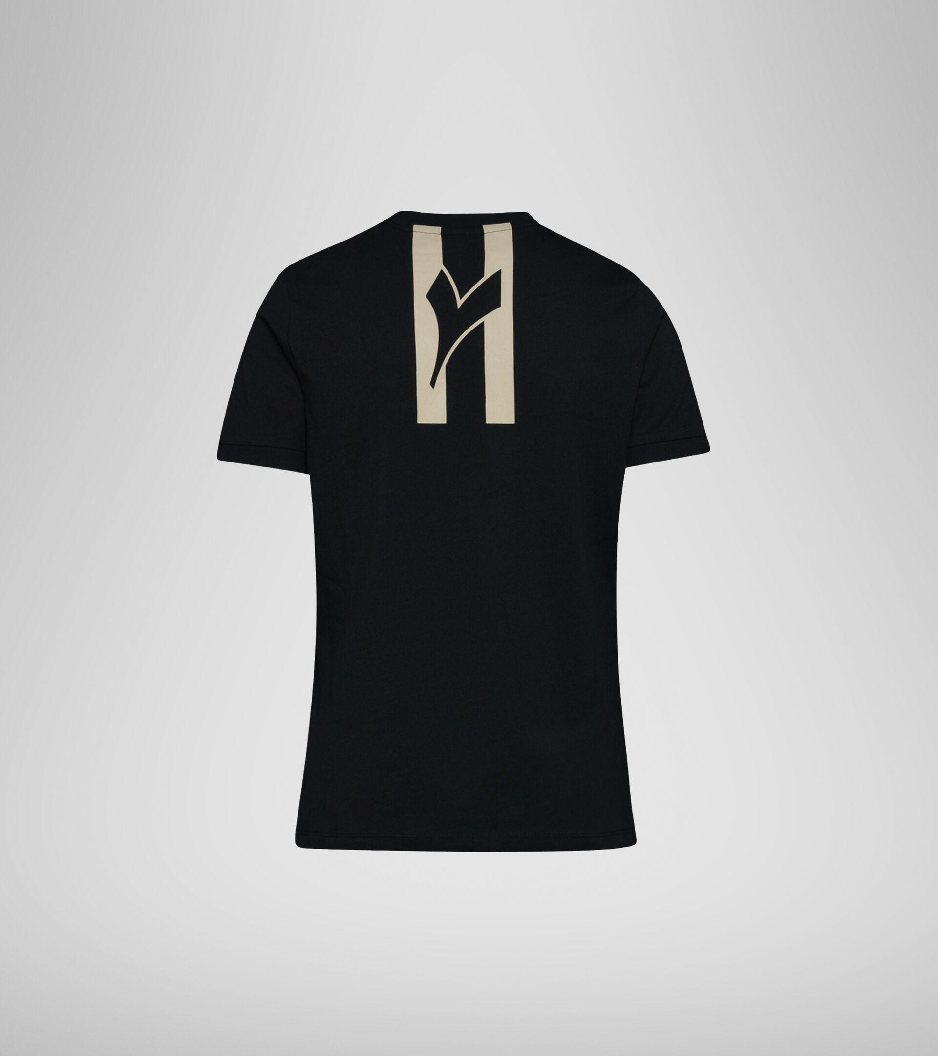 T-Shirt - Damen  L. T-SHIRT SS HOOPS SCHWARZ - Diadora