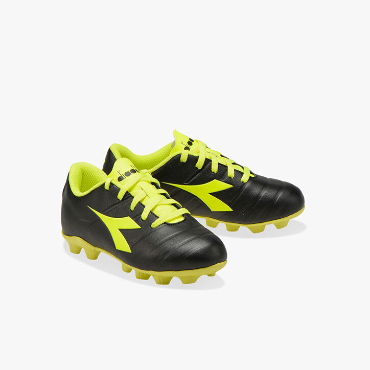PICHICHI 3 MD JR, BLACK/FLUO YELLOW DIADORA, large