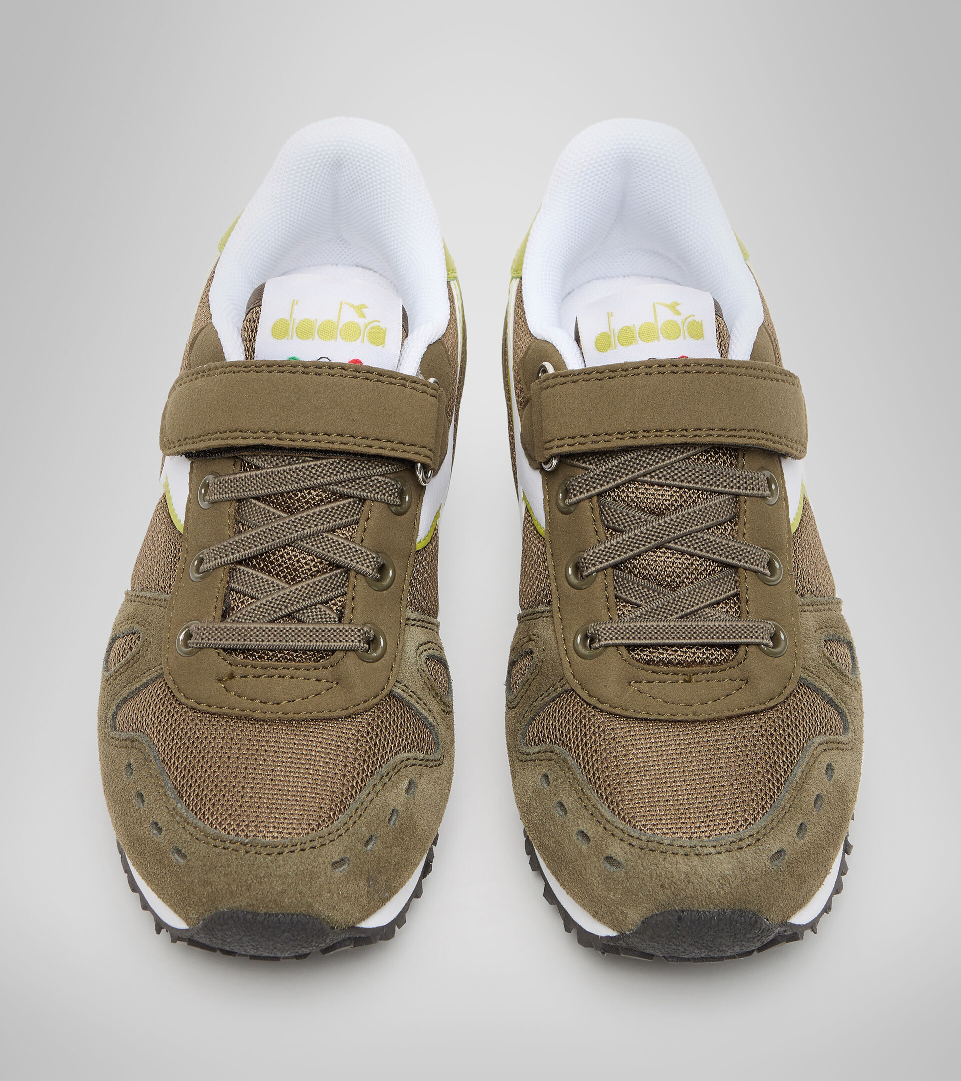 Sports shoes - Kids 4-8 years SIMPLE RUN PS OLIVE GREEN - Diadora