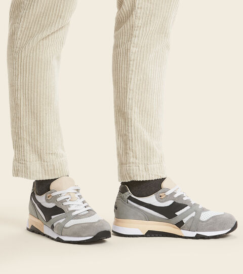 Chaussures Heritage Made in Italy - Homme N9000 ITALIA GRIS GLACIER - Diadora
