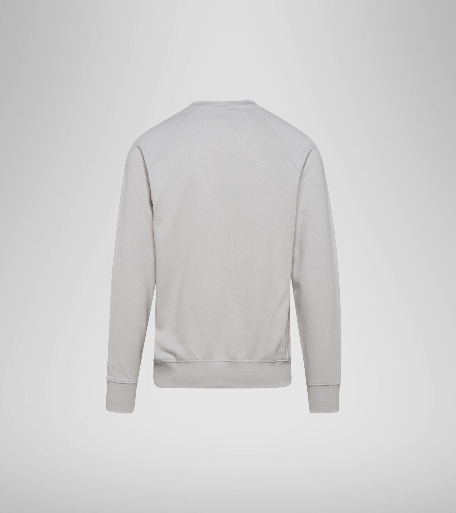 Apparel Sportswear UOMO SWEATSHIRT CREW SPECTRA OYSTER MUSHROOM Diadora