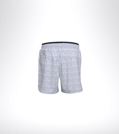 Shorts da running - Uomo  MICROFIBER SHORTS 12,5 CM ALL OVER GRIGIO PLEUROTUS - Diadora