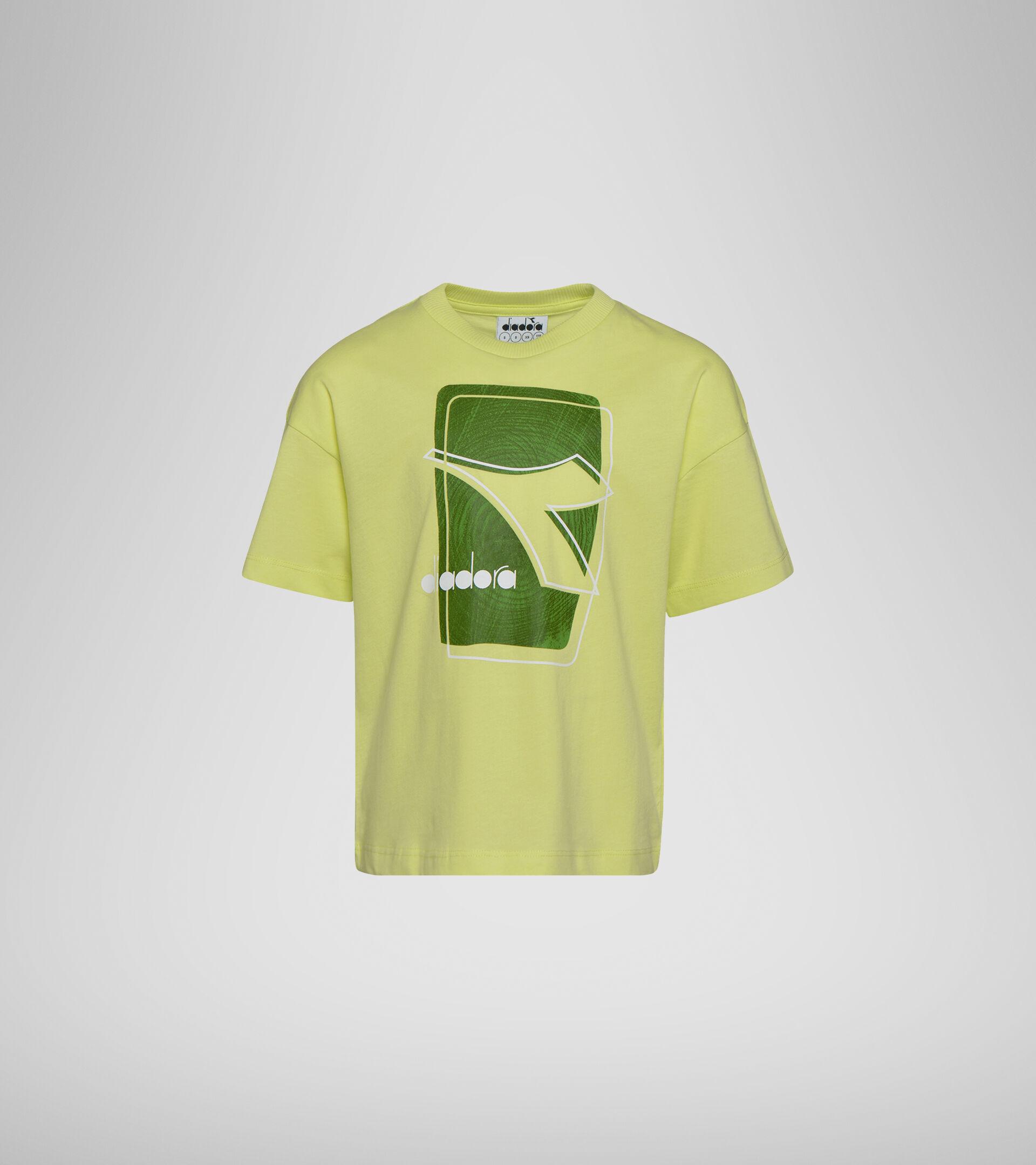 T-Shirt mit Logo -  Jungs und Mädchen JU. T-SHIRT SS ELEMENTS SONNIG LIMONE - Diadora