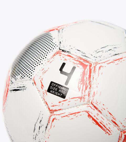Pallone da calcetto/futsal BOMBER SALA CR BIANCO/ROSSO FLUO/NERO - Diadora
