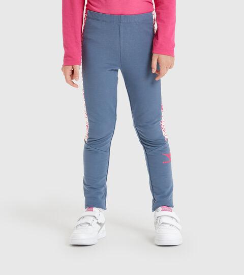 Pantalon de sport - Garçon JG.LEGGINGS TWINKLE PORCELAINE BLEU - Diadora