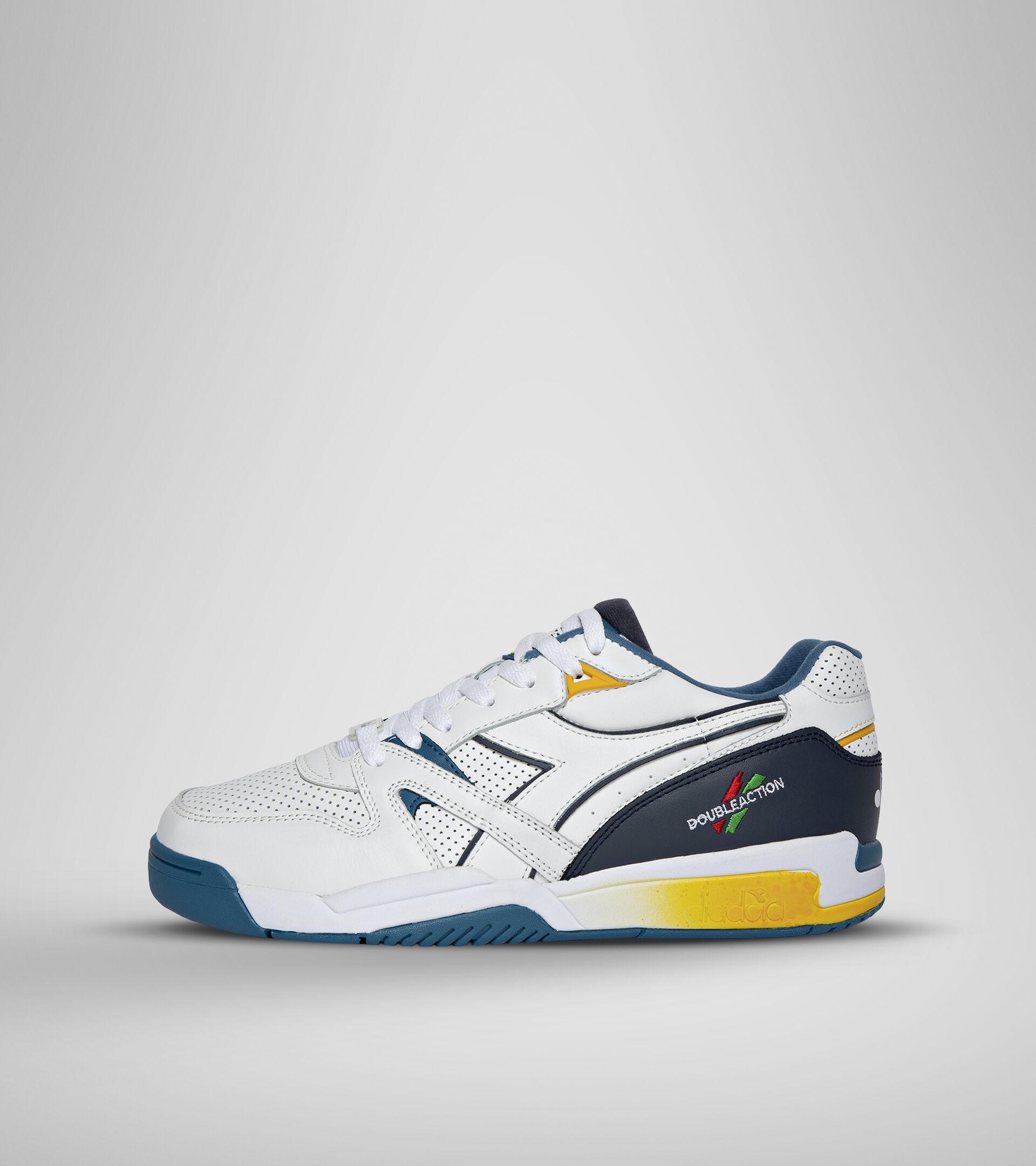 Double Action Technology shoe - Unisex DURATECH ELITE WHITE/BLUE SAPPHIRE - Diadora