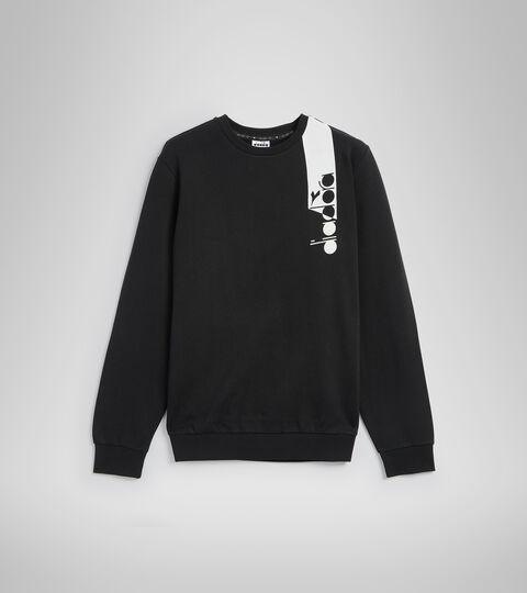 Sweater mit Rundhalsausschnitt - Unisex SWEATSHIRT CREW ICON NEUN EISEN/WEISS/BLAU FLUO - Diadora