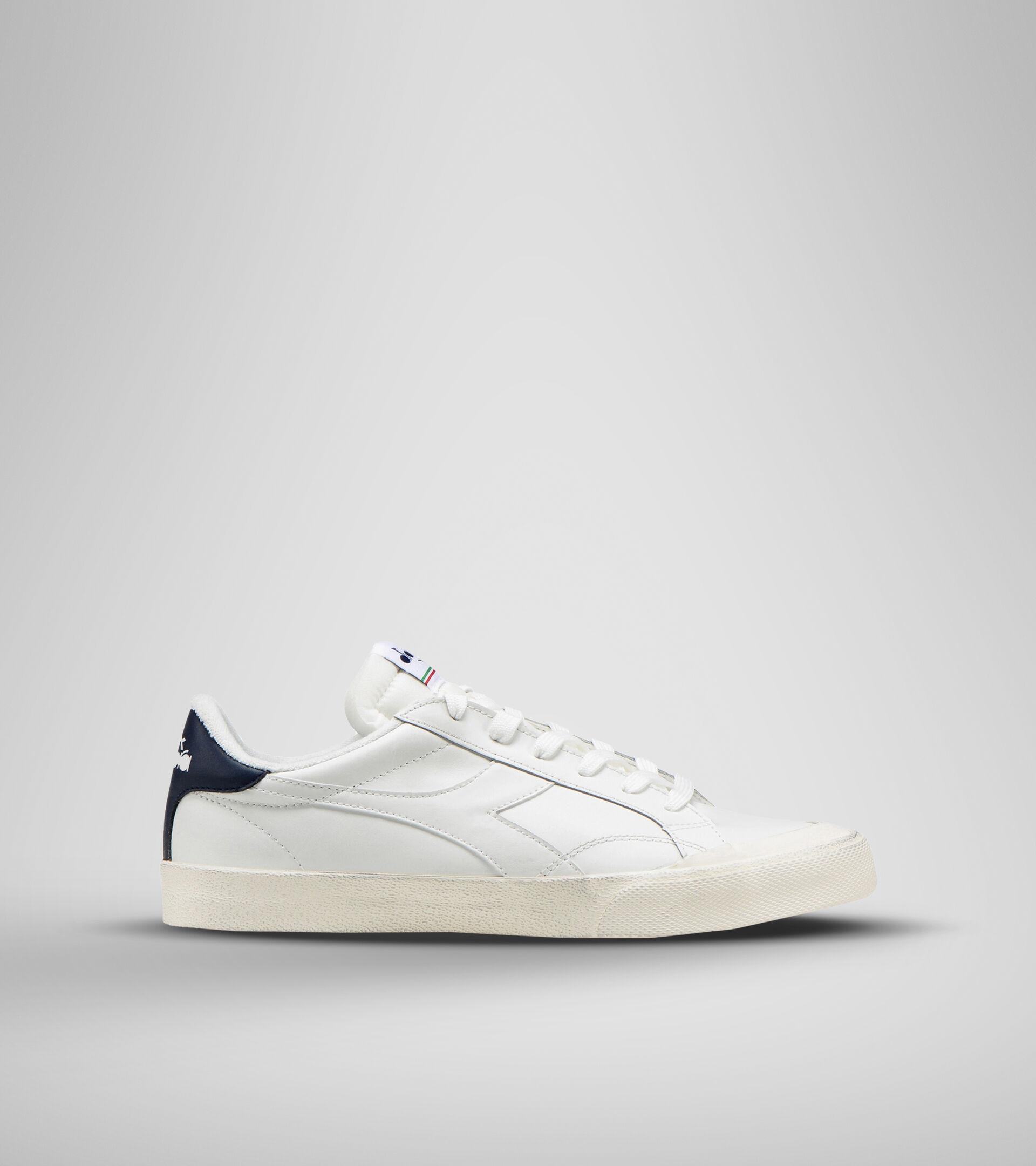 Footwear Sportswear UNISEX MELODY LEATHER DIRTY WHITE/BLUE CORSAIR Diadora