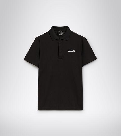Tennis polo shirt - Men POLO STATEMENT SS BLACK - Diadora