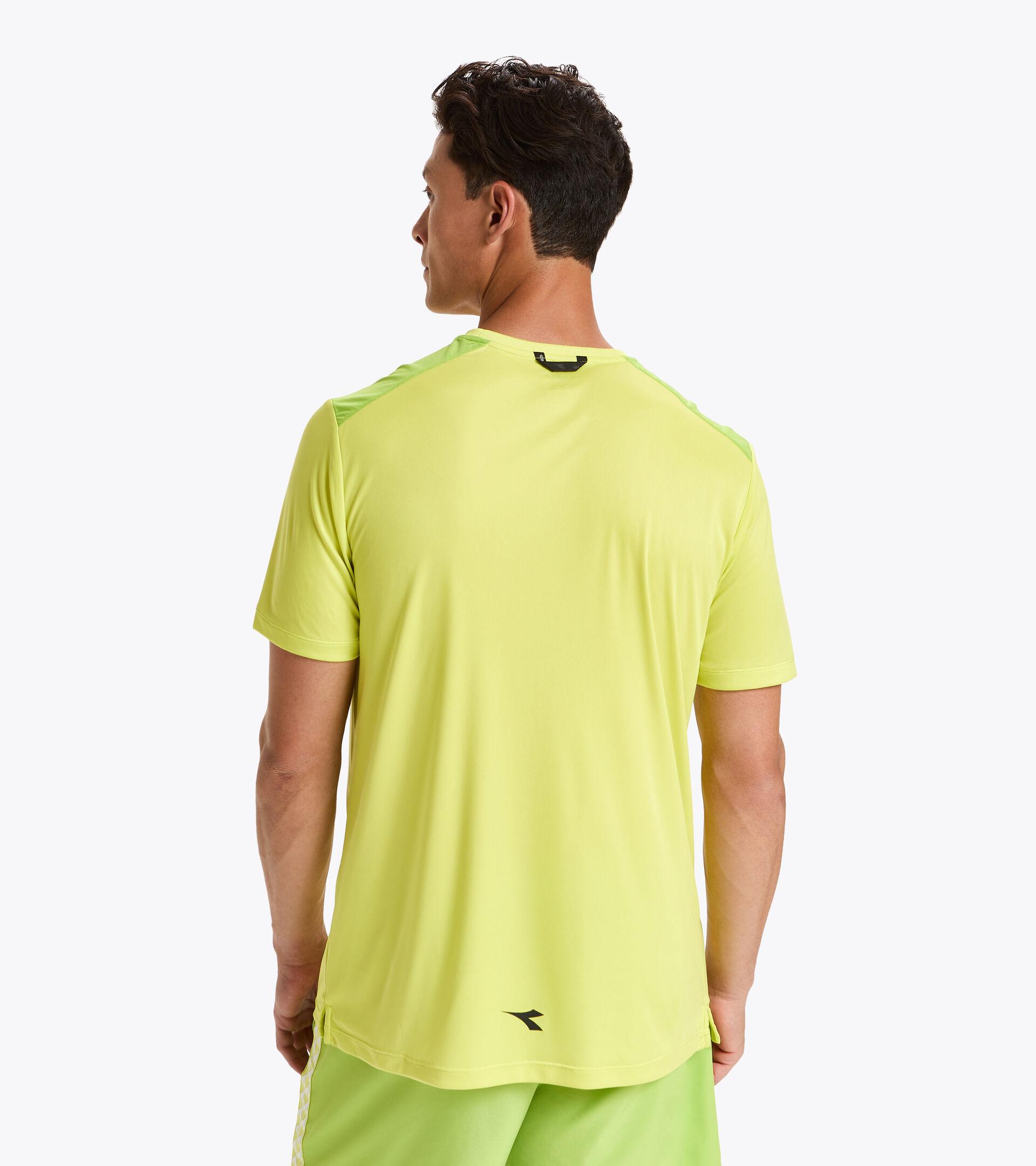Tennis-T-Shirt - Herren SS T-SHIRT CHALLENGE SCHWEFELQUELLE - Diadora