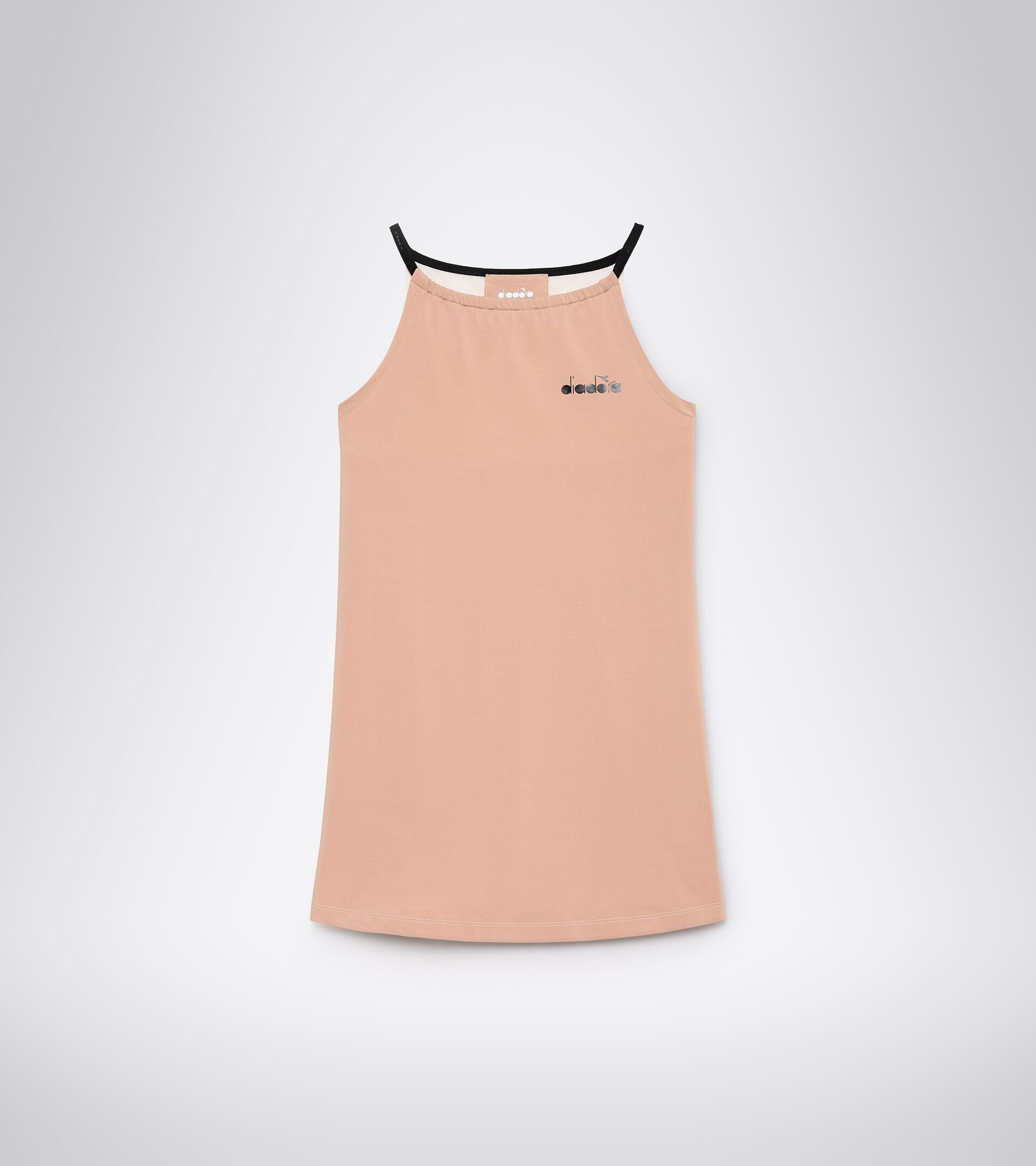 Apparel Sport DONNA L. DRESS CLAY MAHOGANY ROSE/WHISPER WHITE Diadora