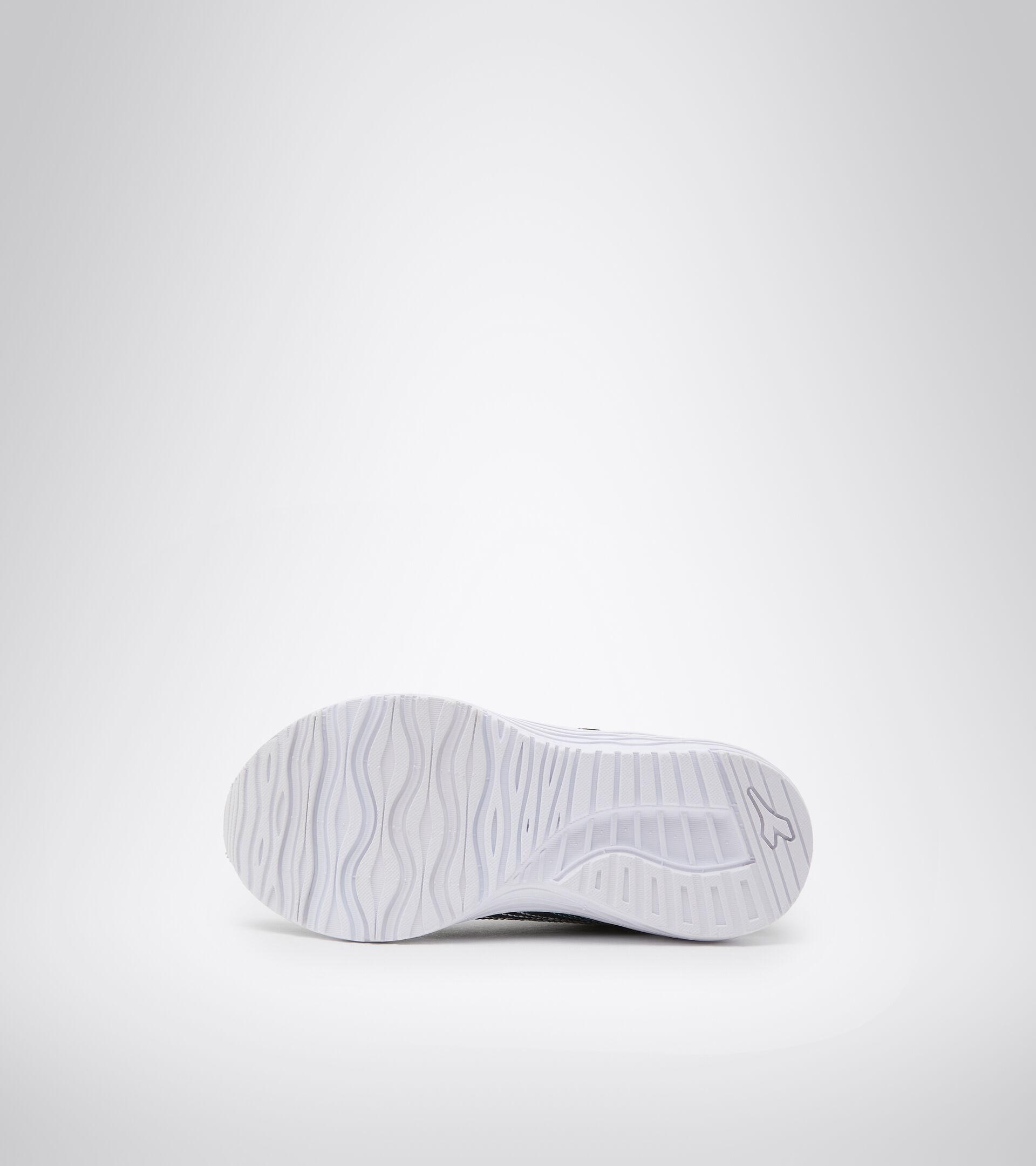 Chaussures de running - Unisexe enfant FLAMINGO 6 JR NOIR IRIS/BLEU ATOLL - Diadora