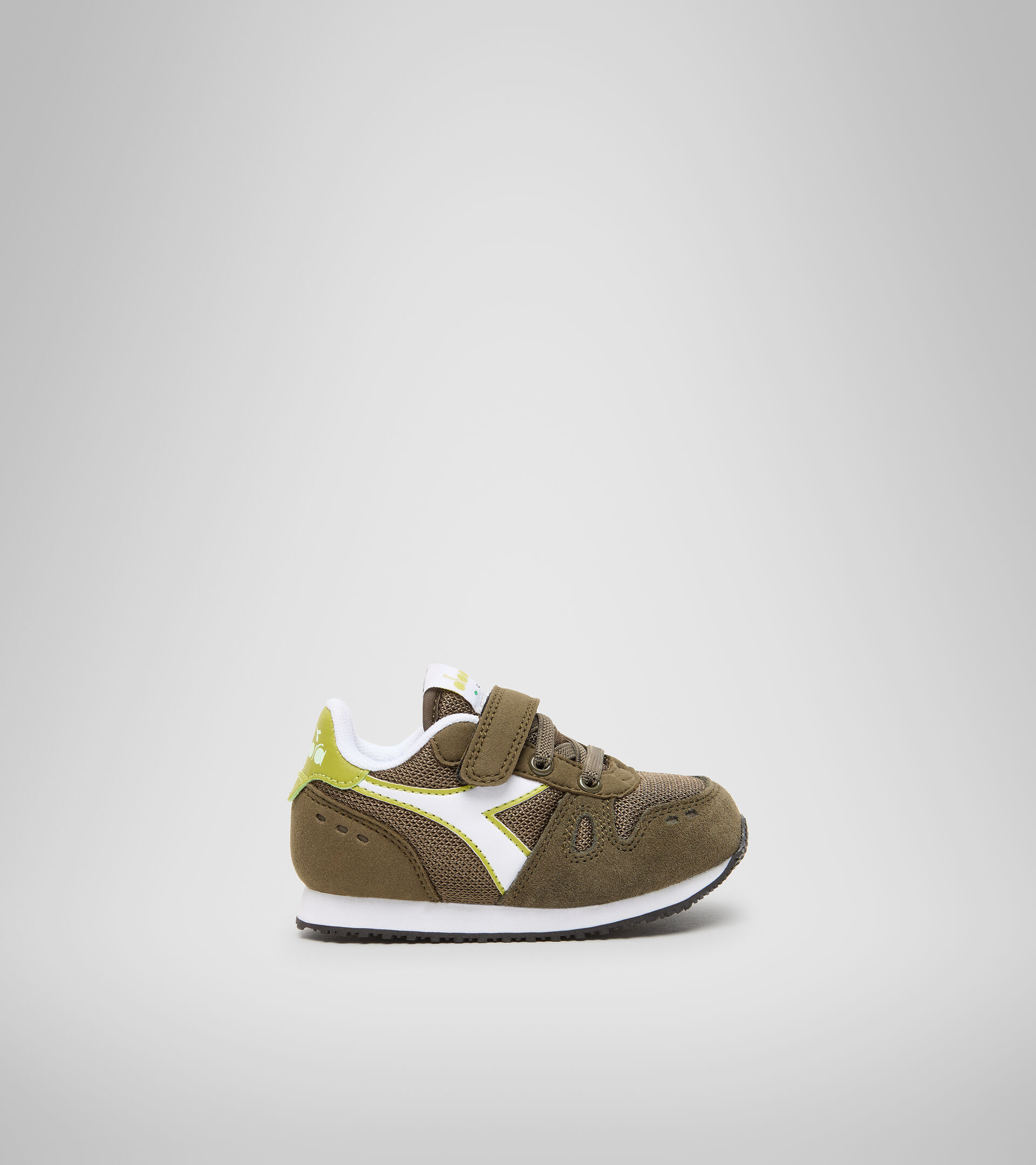 Sports shoes - Toddlers 1-4 years SIMPLE RUN TD OLIVE GREEN - Diadora