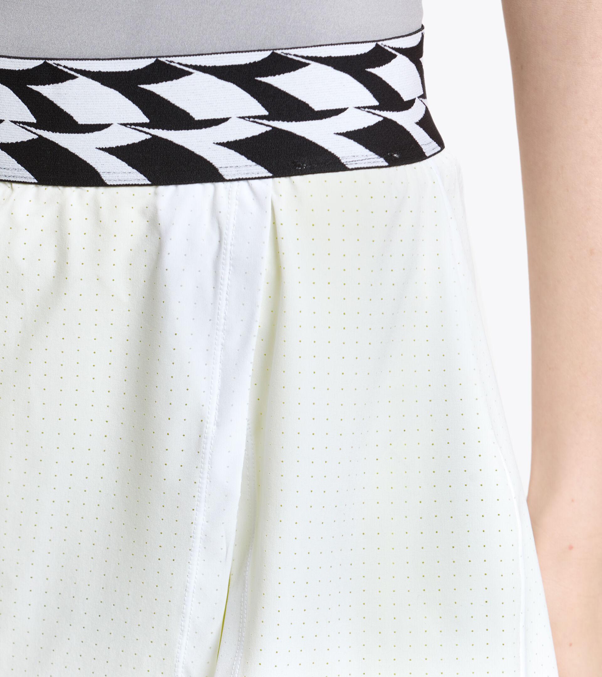 Apparel Sport DONNA L. SKIRT OPTICAL WHITE Diadora