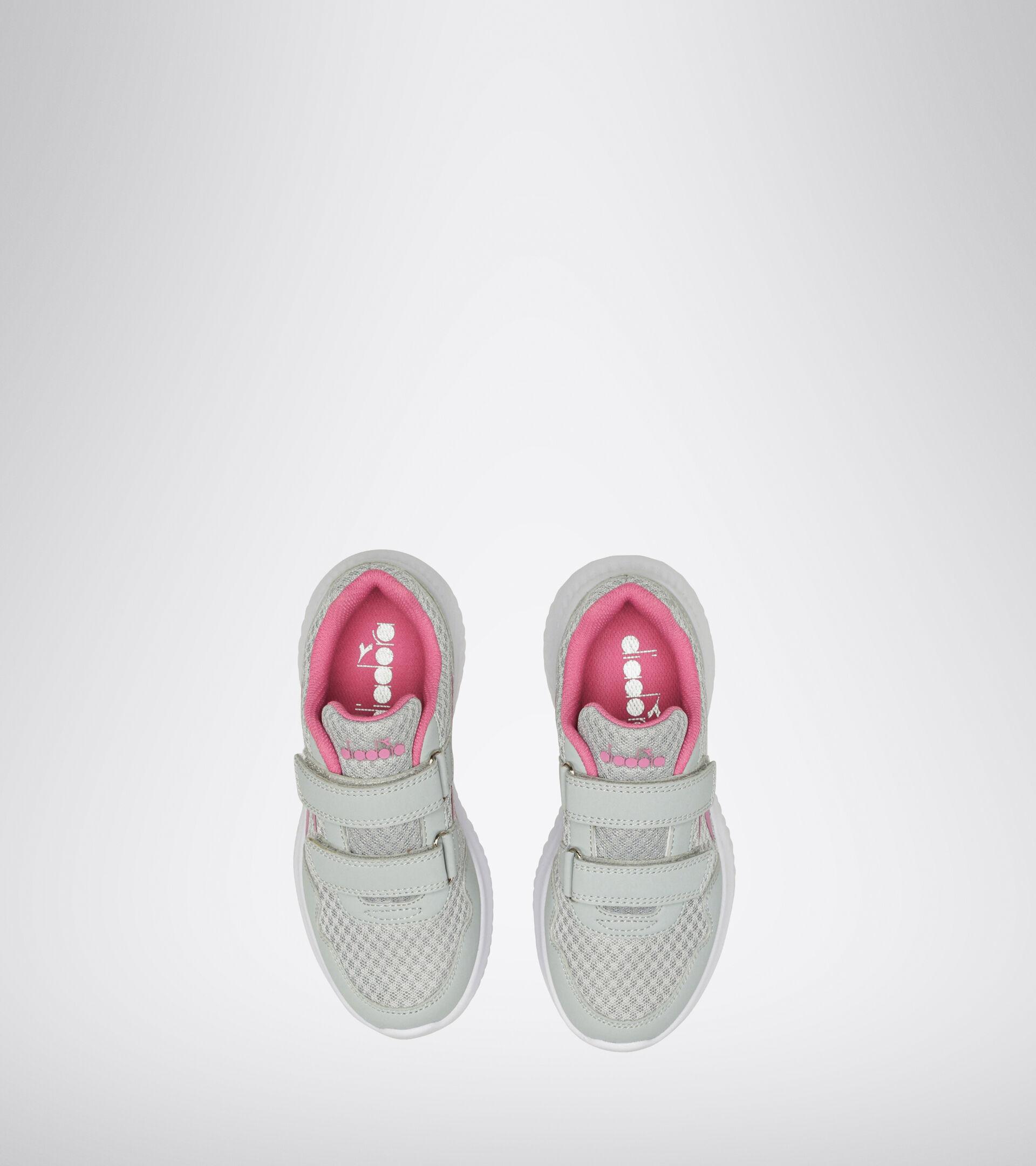 Footwear Sport BAMBINO ROBIN 2 JR V SILVER/WILD ORCHID Diadora