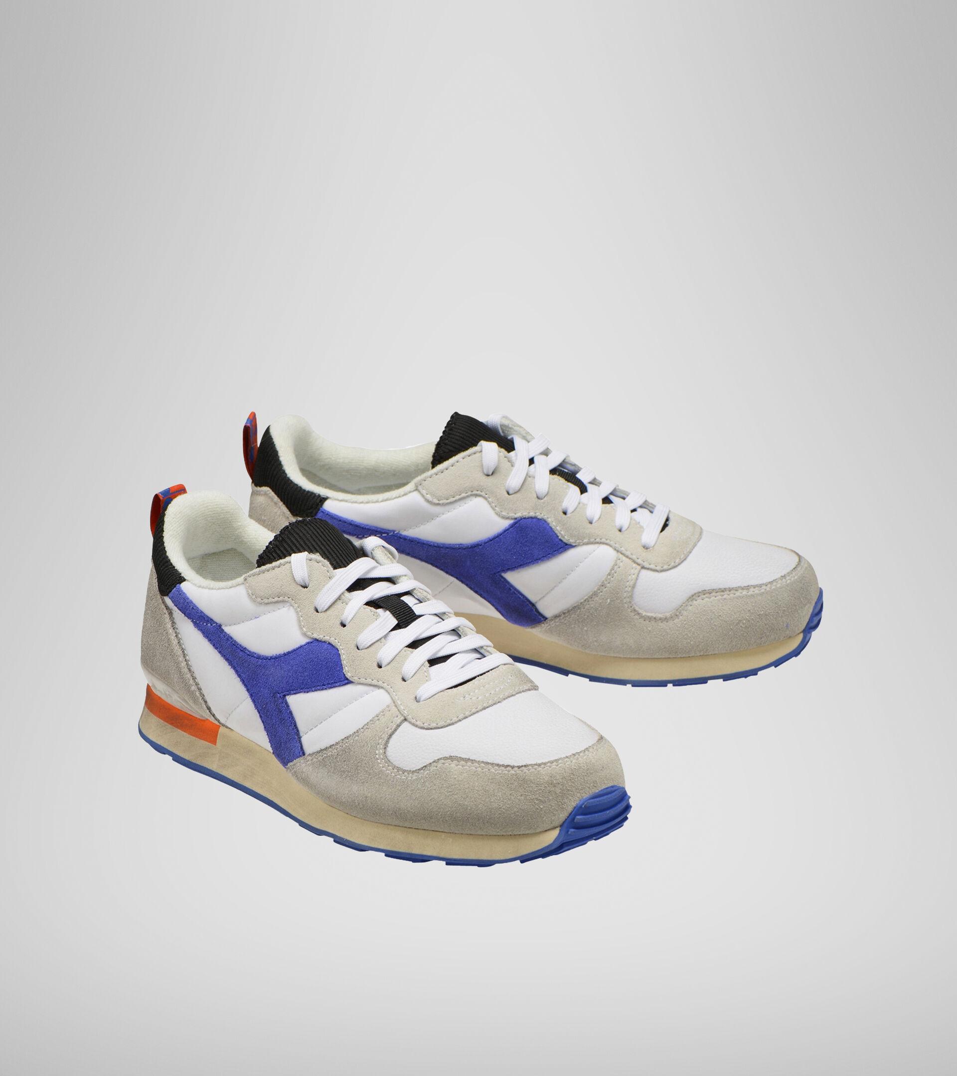 Footwear Sportswear UNISEX CAMARO ICONA BIANCO/BLU PERSIA/ARANCIATA Diadora