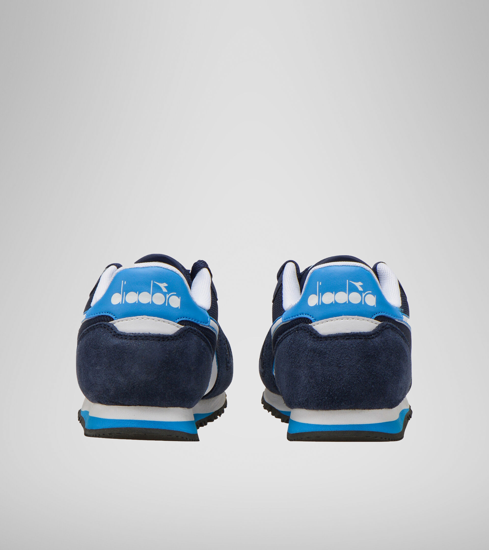 Footwear Sport BAMBINO SIMPLE RUN GS BLU CORSARO/AZZURRO ALLEGRO Diadora
