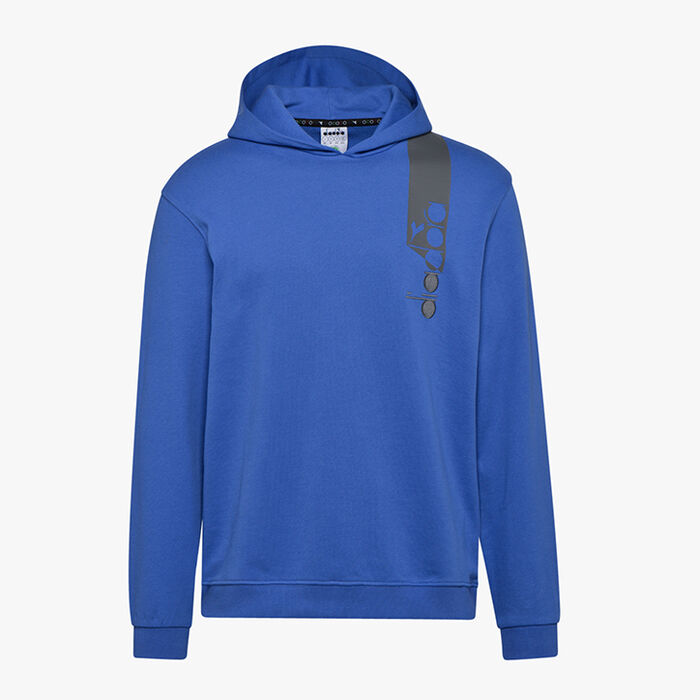 HOODIE ICON, BLUE PERSIA, large