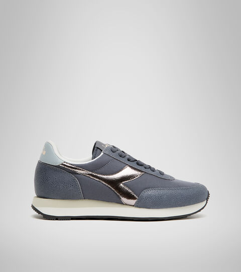Footwear Sportswear DONNA KOALA ICONA GLOSSY WN AZUL INDIA TINTA Diadora