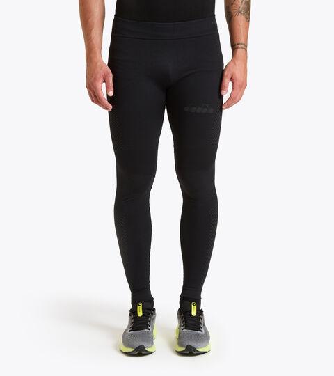 Italian-made running trousers - Men HIDDEN POWER PANTS BLACK - Diadora
