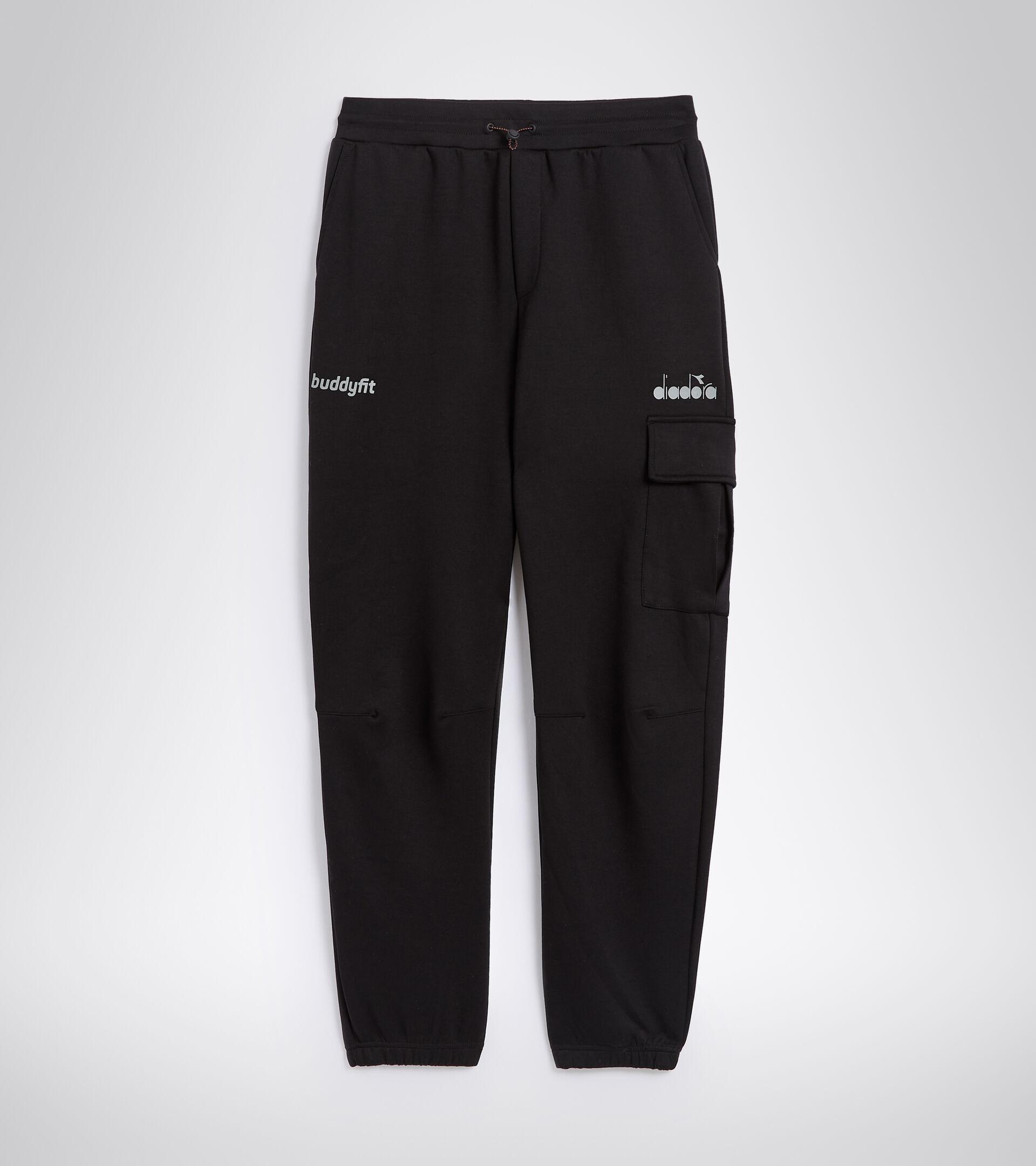 Sports trousers for men PANTS BUDDYFIT BLACK - Diadora