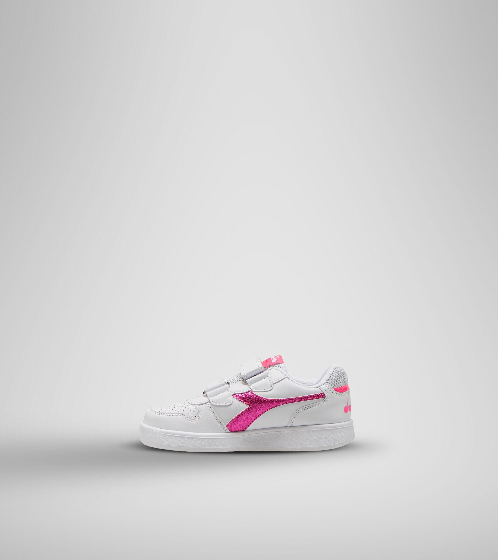 Footwear Sport BAMBINO PLAYGROUND PS GIRL BLANCO/ROSA FLUO Diadora
