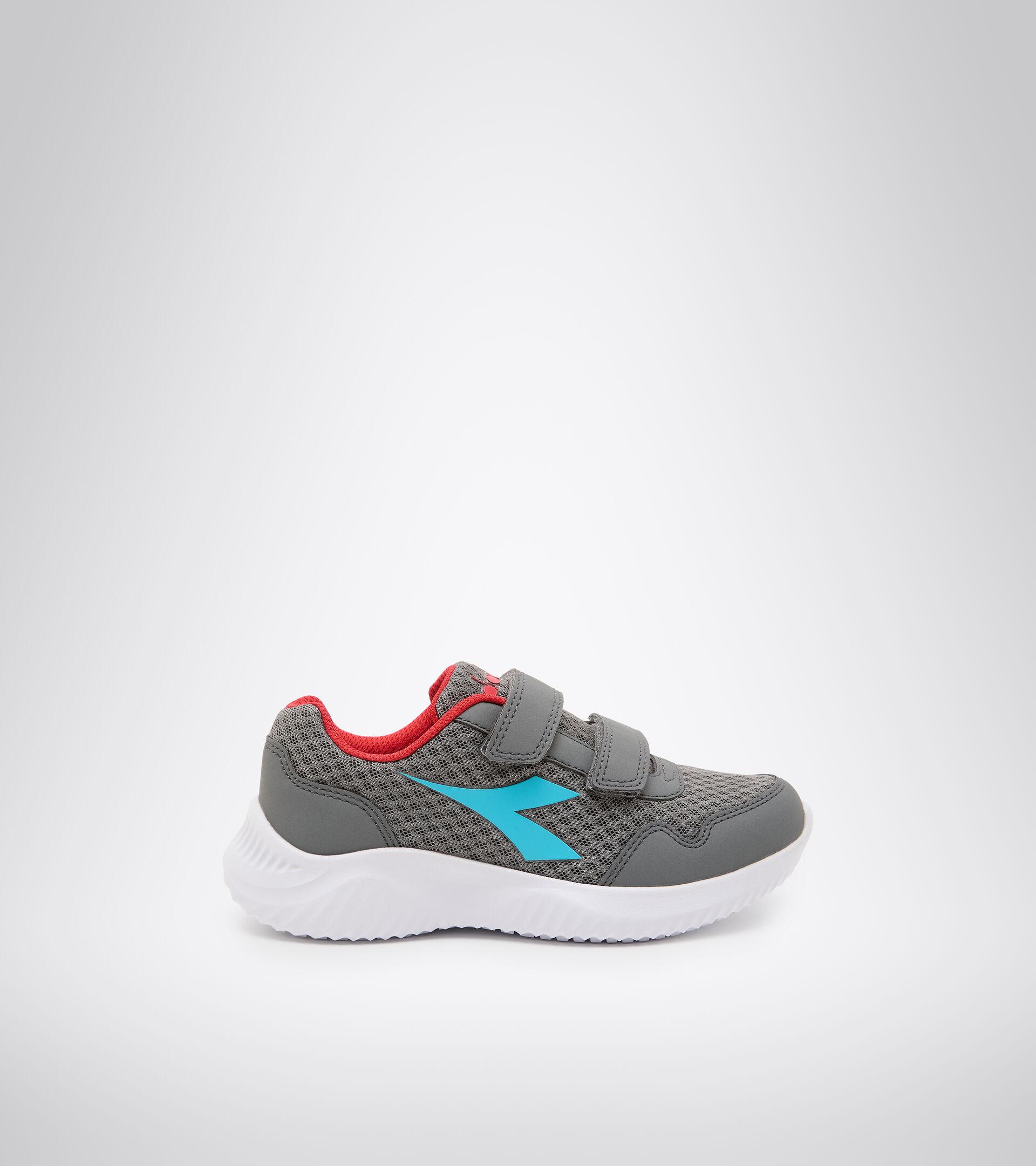 Footwear Sport BAMBINO ROBIN 2 JR V STEEL GRAY/BLUE ATOLL Diadora