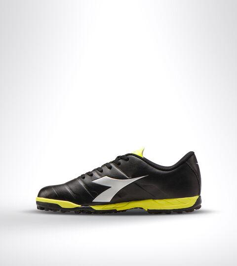 Footwear Sport UOMO PICHICHI 3 TF BLACK/YELLOW FL DD/SILVER Diadora