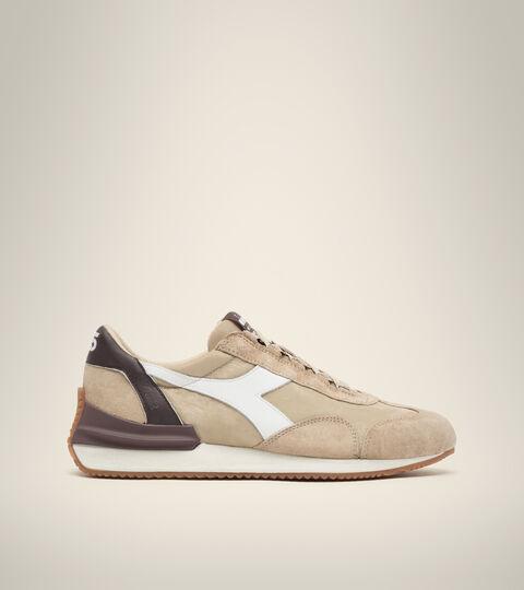 Heritage shoe - Unisex EQUIPE MAD ITALIA NUBUCK SW BEIGE SAFARI - Diadora