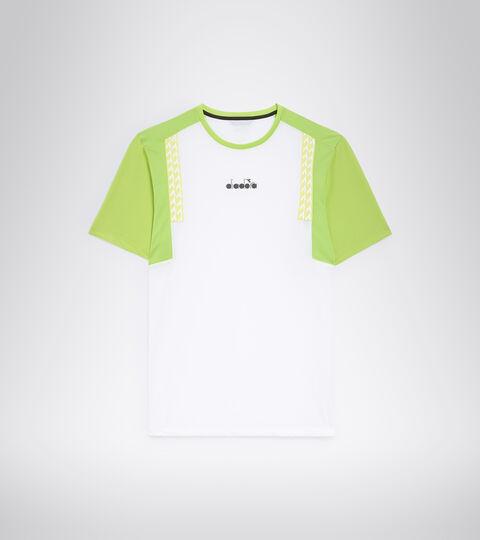 Tennis-T-Shirt - Herren SS T-SHIRT CLAY STRAHLEND WEISSE - Diadora