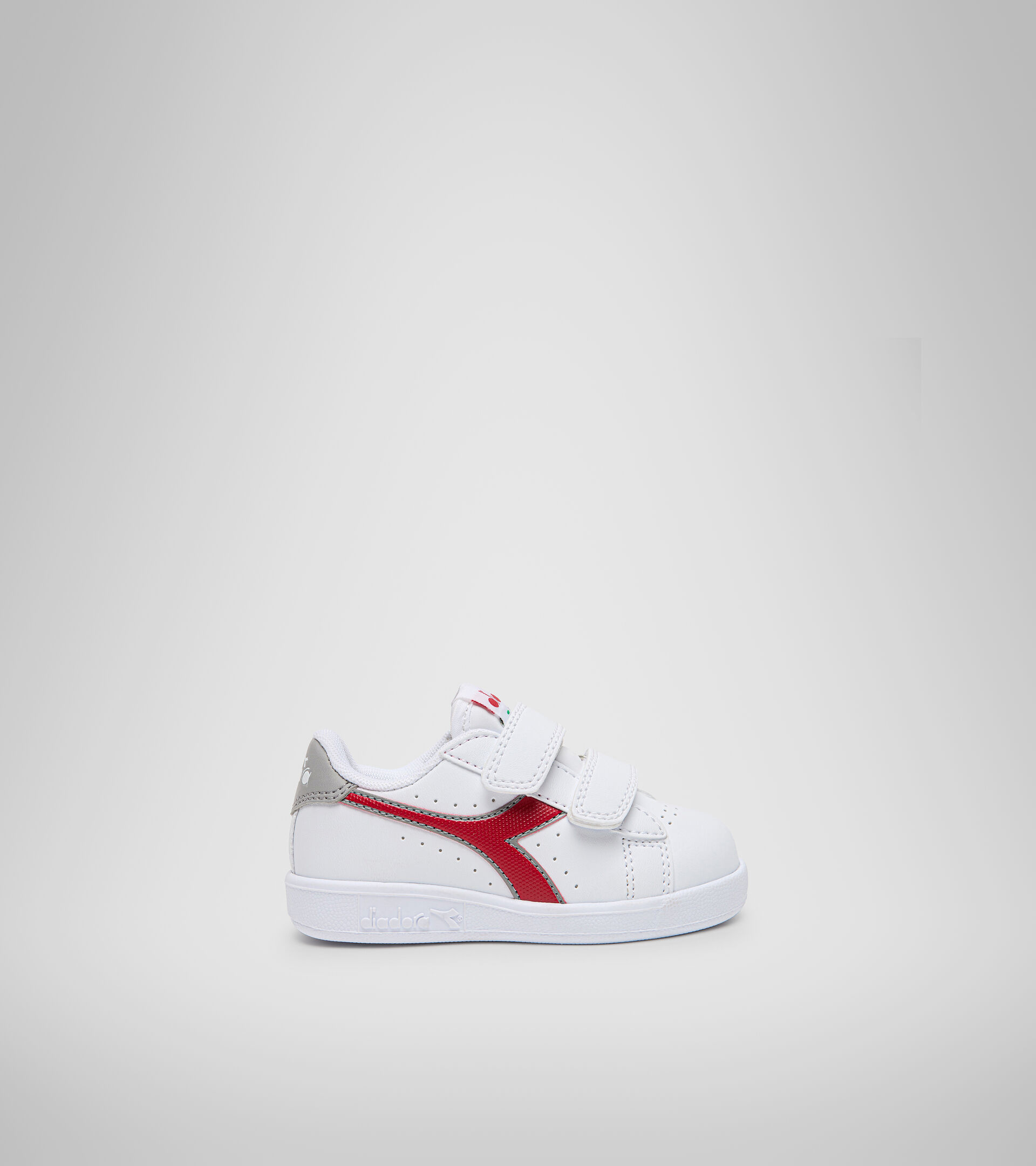 Sports shoes - Toddlers 1-4 years GAME P TD WHITE/TANGO RED - Diadora