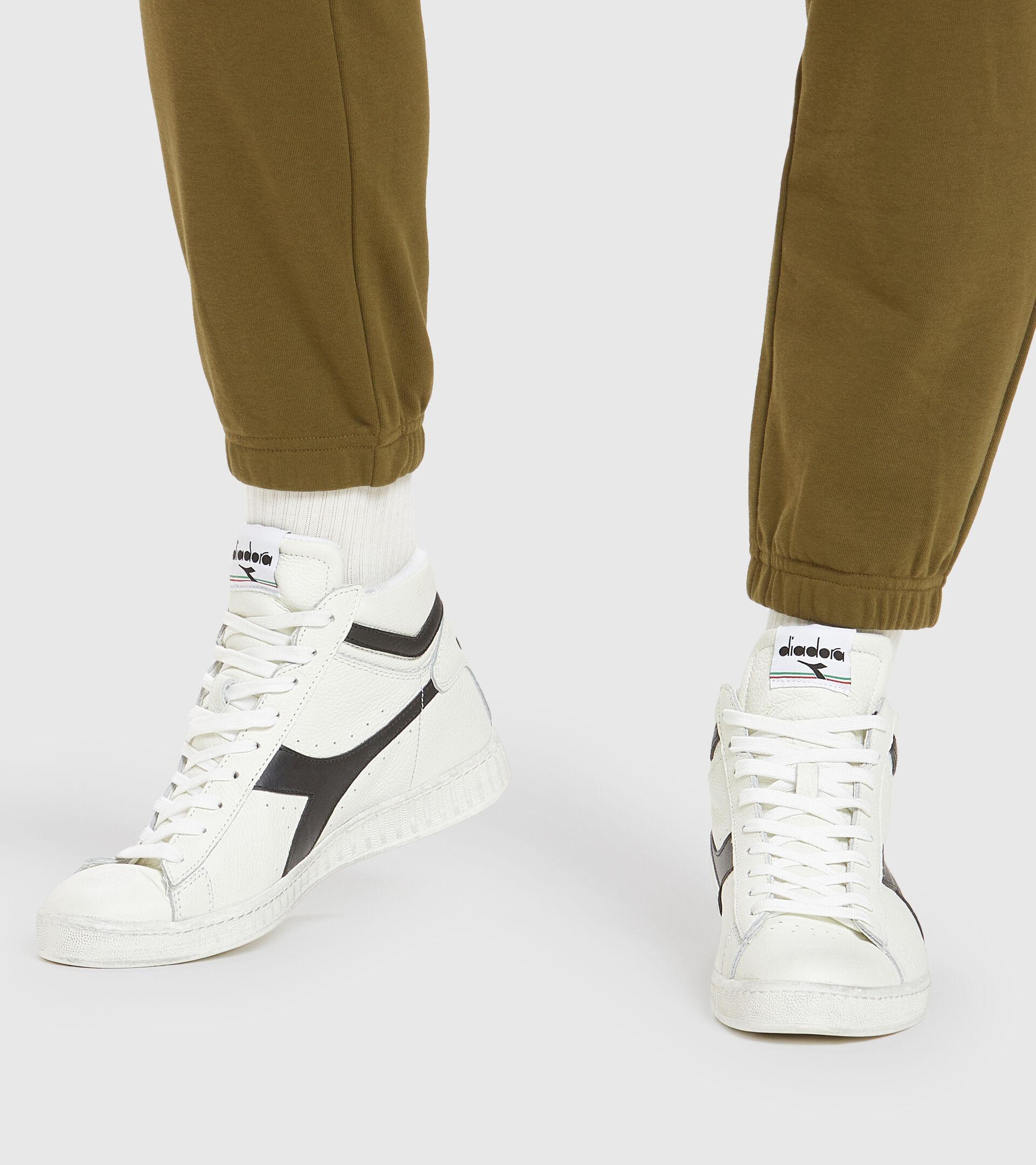 Footwear Sportswear UNISEX GAME L HIGH WAXED WHITE/BLACK Diadora