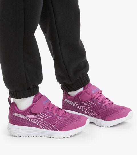 Footwear Sport BAMBINO FLAMINGO 6 JR VIOLETA BRILLANTE/BLANCO Diadora