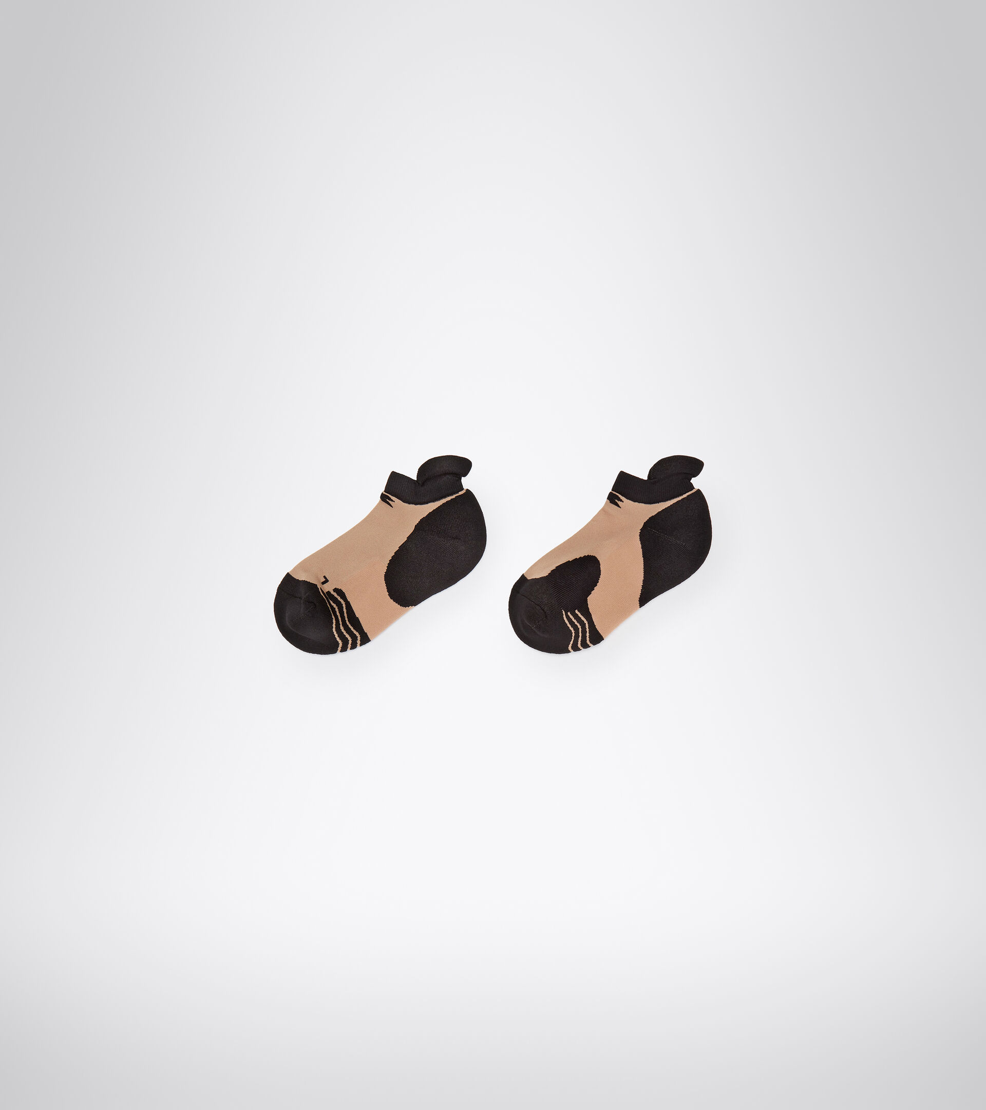 Accessories Sport DONNA L. SOCKS BLACK/MAHOGANY ROSE Diadora