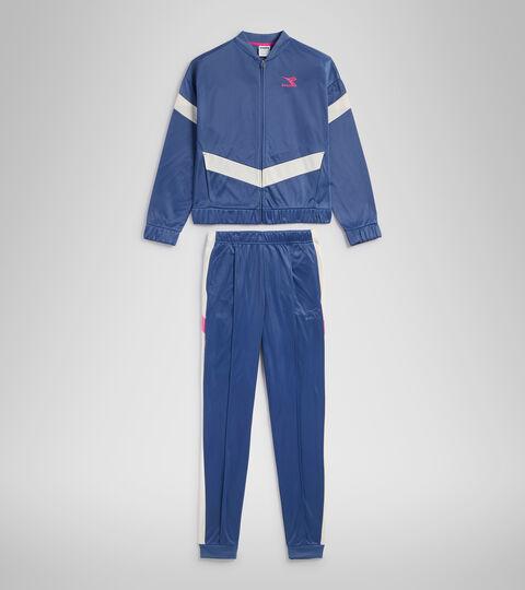 Trainingsanzug - Damen L.TRACKSUIT FZ CHROMIA BIJOU BLAU - Diadora