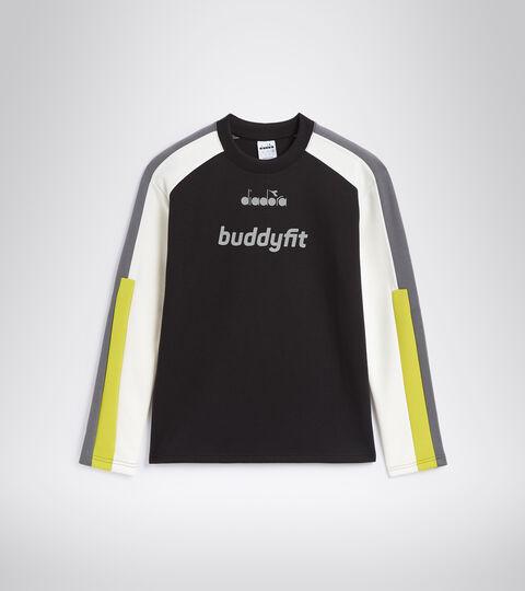 Sweater mit Rundhalsausschnitt - Herren SWEATSHIRT CREW BUDDYFIT SCHWARZ - Diadora