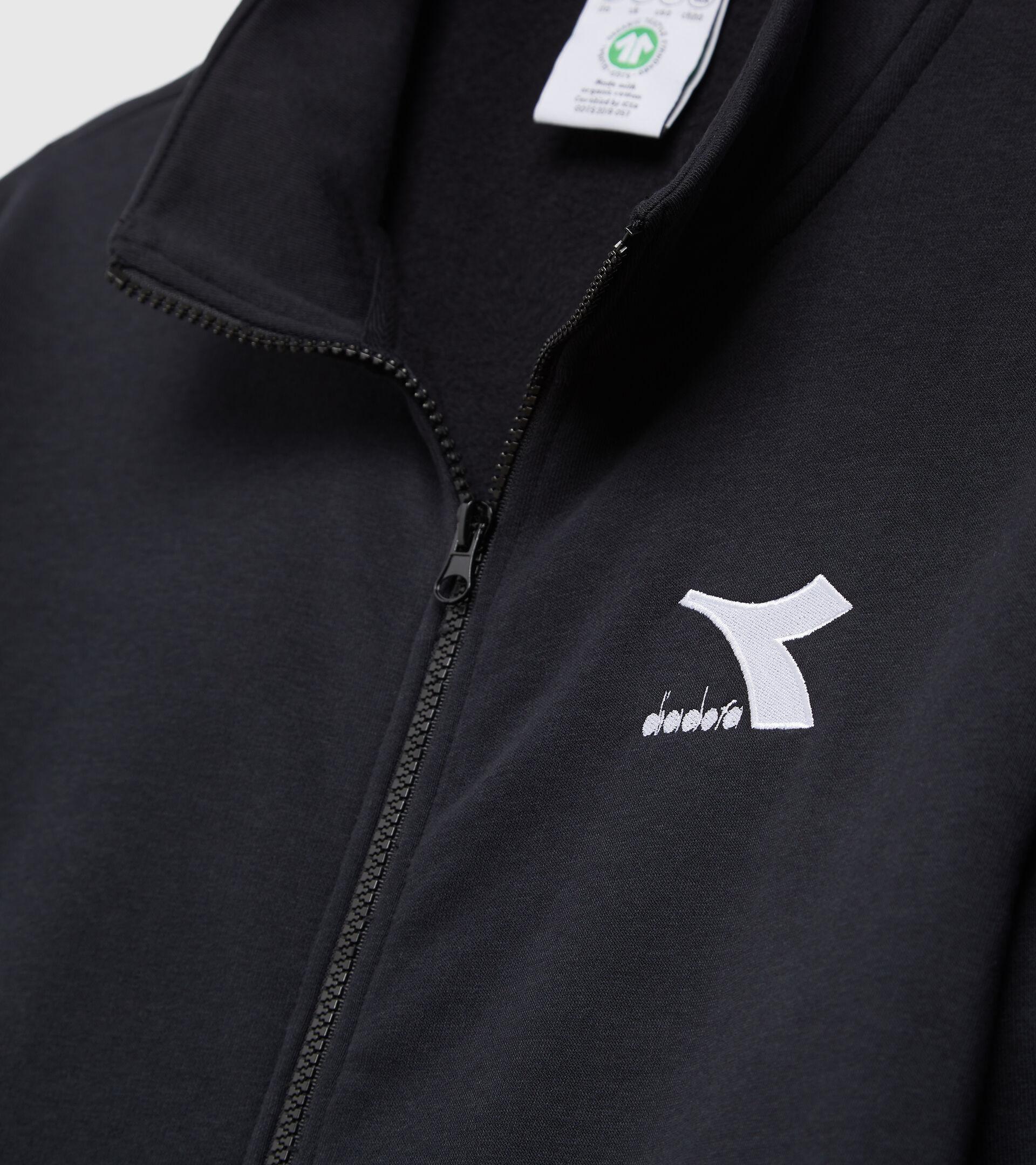 Crew-neck sweatshirt - Men SWEAT FZ CORE BLACK - Diadora