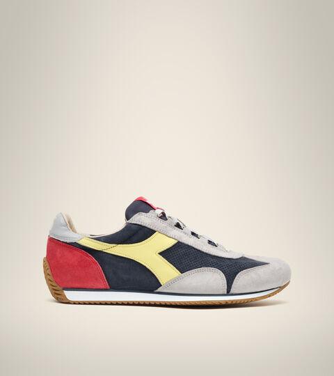 Footwear Heritage UNISEX EQUIPE SUEDE SW BLU PROFONDO/GRIGIO GRATTACIEL Diadora