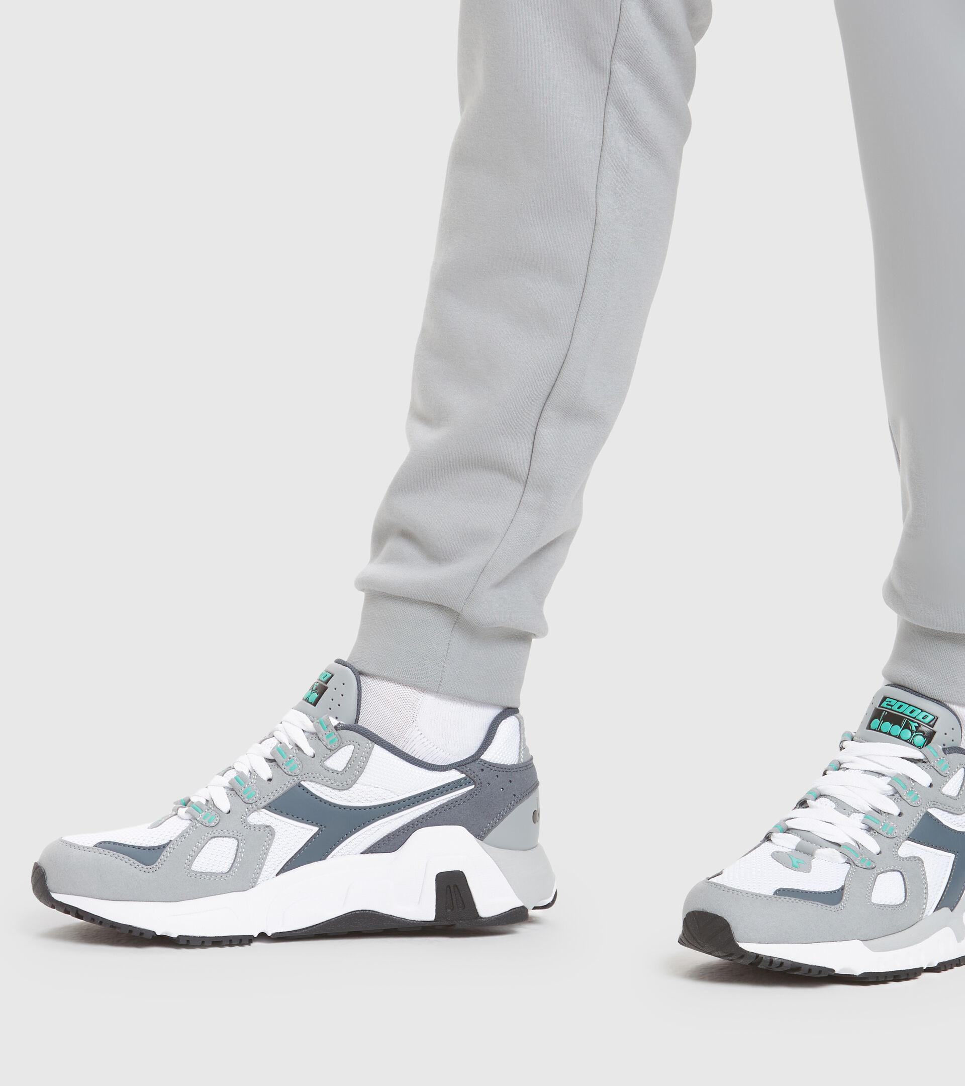 Sports shoe - Men MYTHOS SUEDE WHITE/GRIFFIN - Diadora