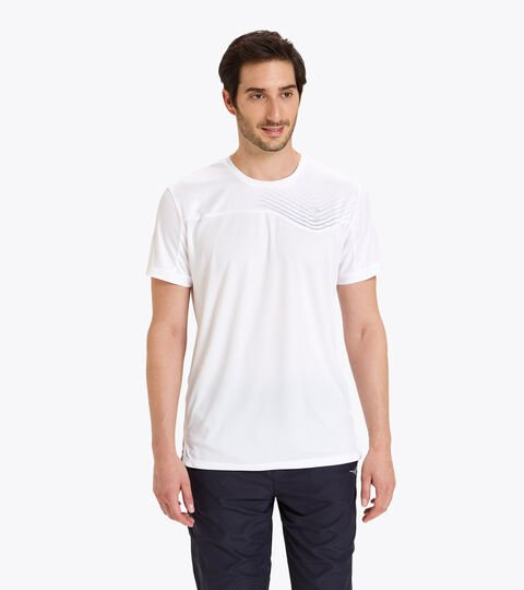 Camiseta de tenis - Hombre T-SHIRT COURT BLANCO VIVO - Diadora