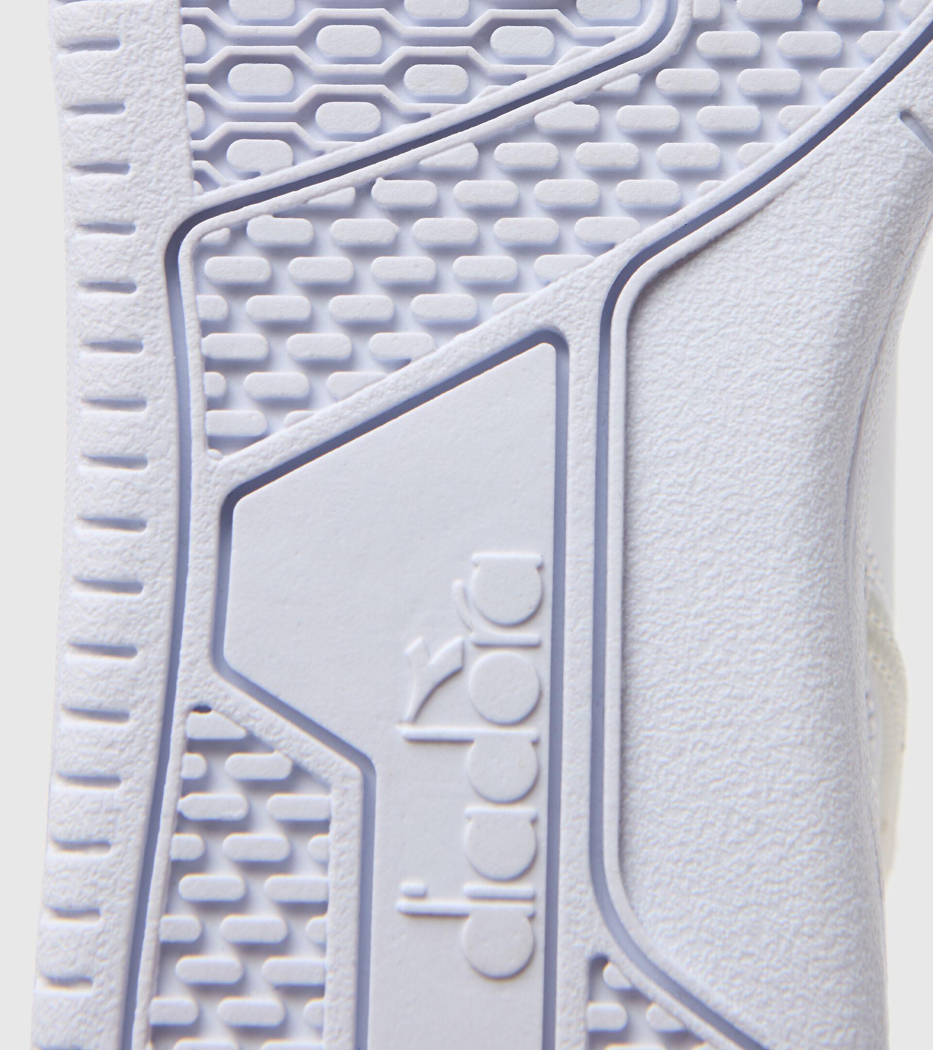 Footwear Sport BAMBINO RAPTOR MID PS WHITE/TOMATO RED Diadora