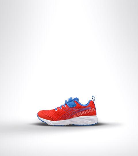Running shoe - Kids FLAMINGO 6 JR DARK RED/ROYAL/WHITE - Diadora
